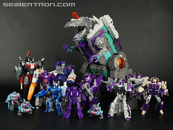 Transformers News: New Galleries: Titans Return Titan Class Trypticon with Full-Tilt and Necro