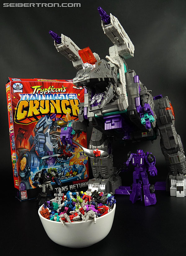 Transformers News: Updated Galleries: Transformers Titans Return Trypticon's Titan Master Crunch SDCC2017 Exclusive