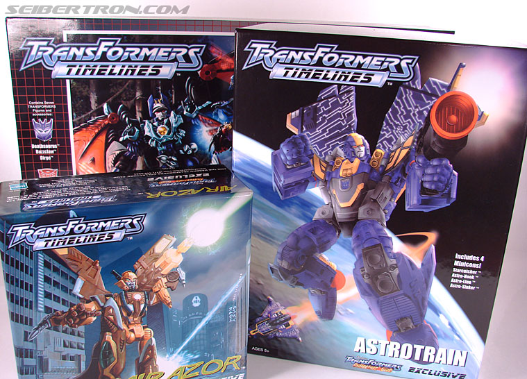 Transformers Club Exclusives Astrotrain (Image #2 of 176)