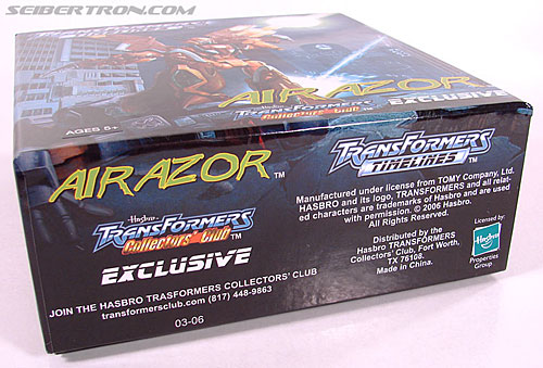 Transformers Club Exclusives Airazor (Chromia 10 Pilot) (Image #15 of 132)