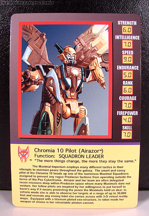 Transformers Club Exclusives Airazor (Chromia 10 Pilot) (Image #23 of 132)