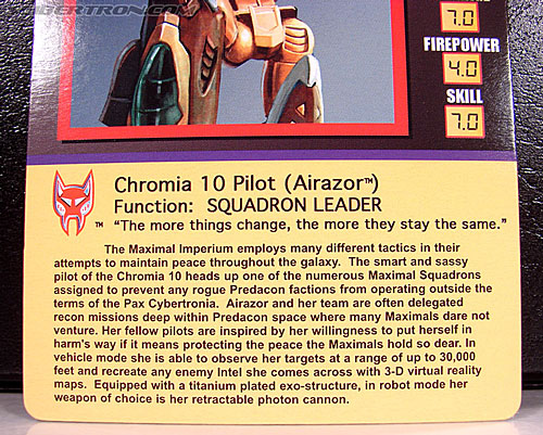 Transformers Club Exclusives Airazor (Chromia 10 Pilot) (Image #24 of 132)