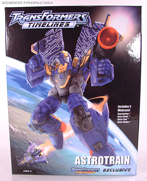 Transformers Club Exclusives Astrotrain (Image #3 of 176)