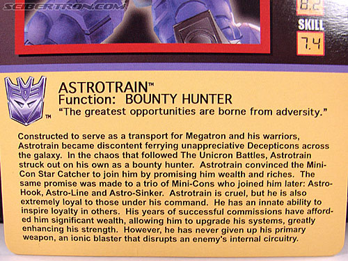 Transformers Club Exclusives Astrotrain (Image #22 of 176)