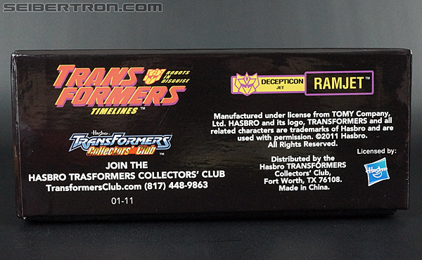Transformers Club Exclusives G2 Ramjet (Image #13 of 196)