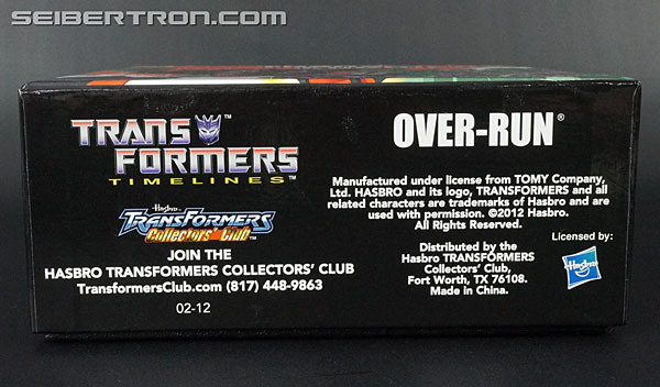 Transformers Club Exclusives Over-Run (Runabout) (Image #15 of 282)
