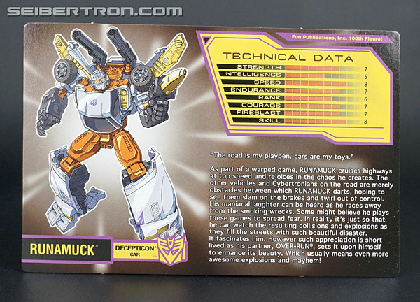Transformers Club Exclusives Runamuck (Image #8 of 281)