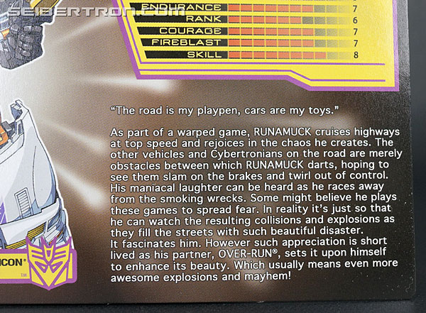 Transformers Club Exclusives Runamuck (Image #11 of 281)
