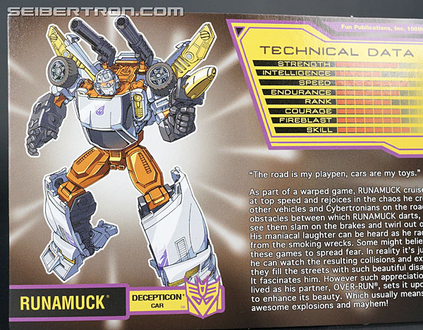Transformers Club Exclusives Runamuck (Image #12 of 281)