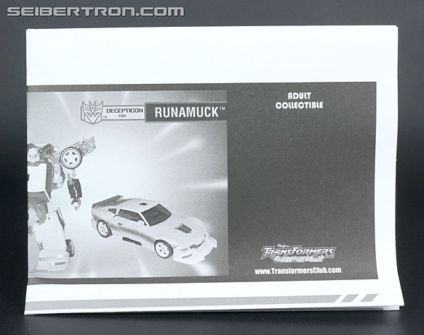 Transformers Club Exclusives Runamuck (Image #18 of 281)