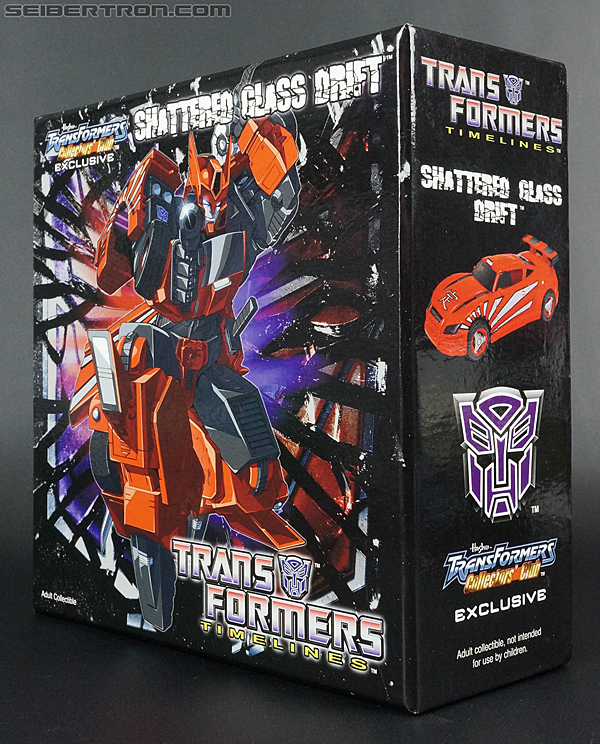 Transformers Club Exclusives Drift (Shattered Glass) (Image #11 of 192)