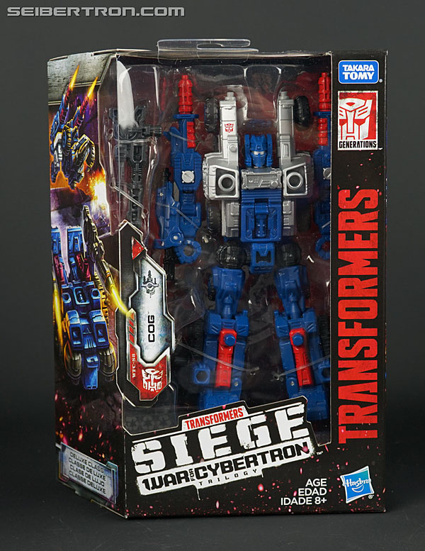 Transformers News: New Galleries: War for Cybertron SIEGE Deluxe Class Cog, Hound, Sideswipe and Skytread