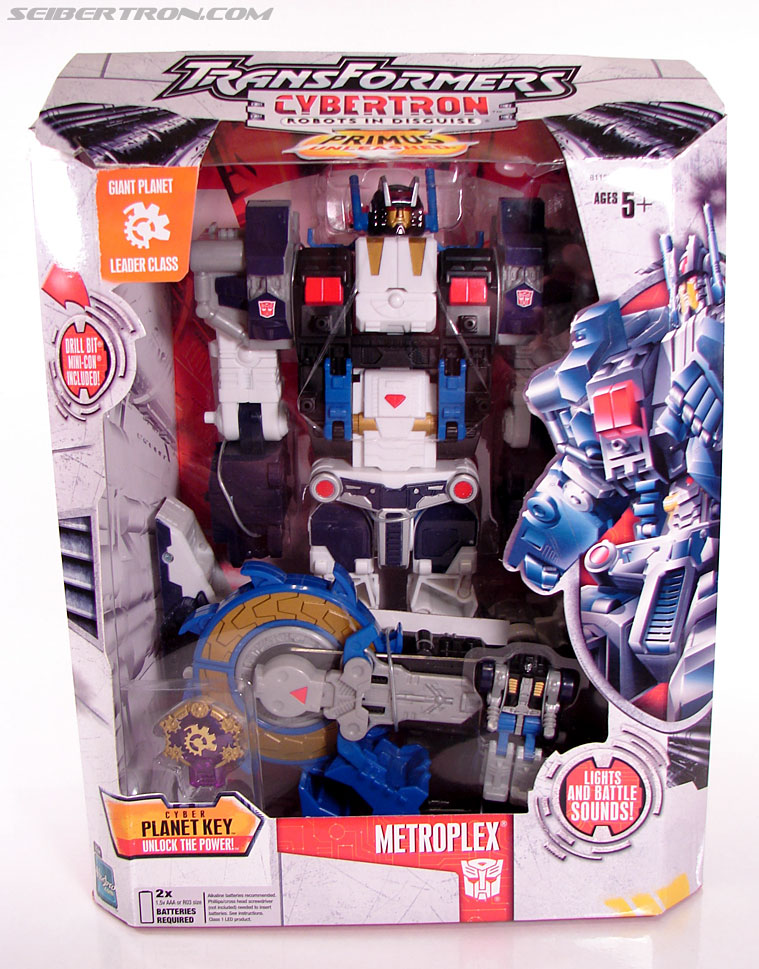Transformers Cybertron Metroplex (Megalo Convoy) (Image #1 of 192)