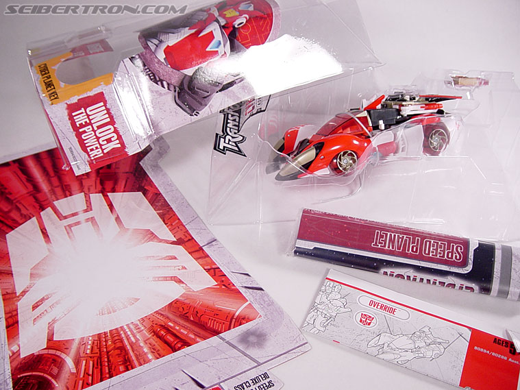 Transformers Cybertron Override (Nitro Convoy) (Image #15 of 85)