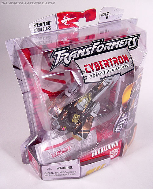 Transformers Cybertron Brakedown (Autolander) (Image #3 of 58)