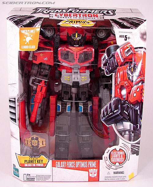 Transformers Cybertron Galaxy Force Optimus Prime (Image #1 of 147)