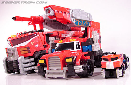 Transformers Cybertron Galaxy Force Optimus Prime (Image #35 of 147)