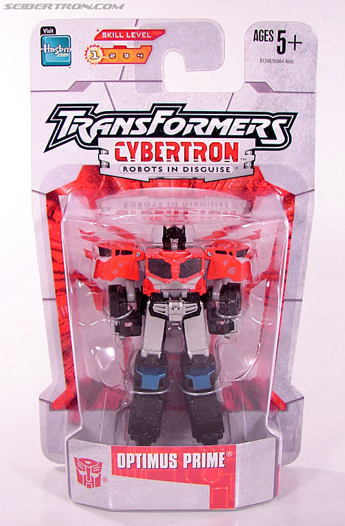 Transformers Cybertron Galaxy Force Optimus Prime (Image #1 of 56)