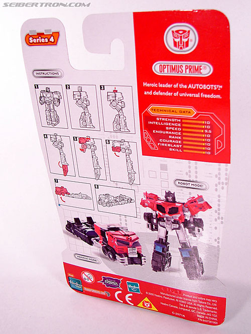 Transformers Cybertron Galaxy Force Optimus Prime (Image #3 of 56)