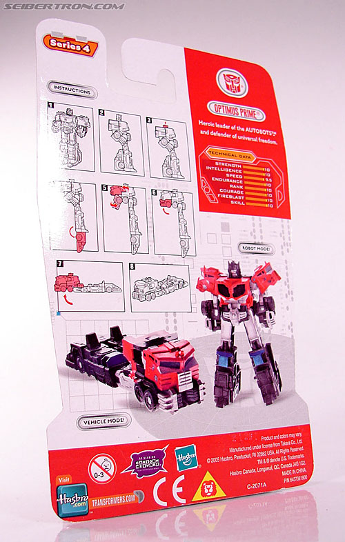 Transformers Cybertron Galaxy Force Optimus Prime (Image #5 of 56)