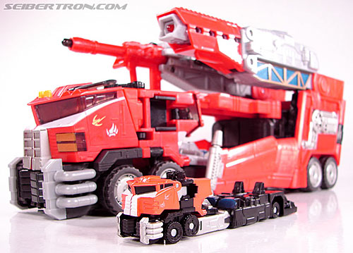 Transformers Cybertron Galaxy Force Optimus Prime (Image #28 of 56)