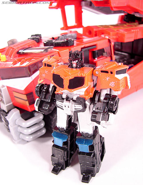 Transformers Cybertron Galaxy Force Optimus Prime (Image #32 of 56)