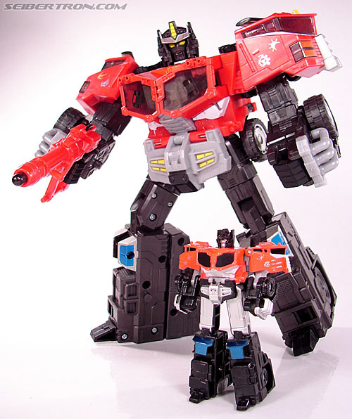 Transformers Cybertron Galaxy Force Optimus Prime (Image #34 of 56)