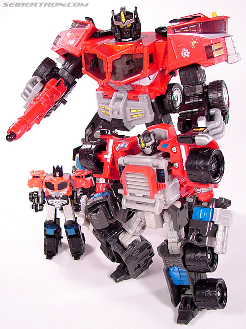 Transformers Cybertron Galaxy Force Optimus Prime (Image #35 of 56)