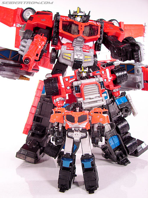 Transformers Cybertron Galaxy Force Optimus Prime (Image #36 of 56)