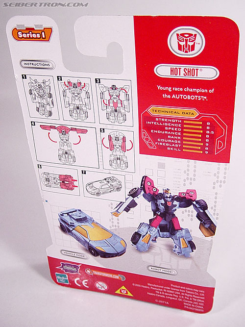 Transformers Cybertron Hot Shot (Image #4 of 55)