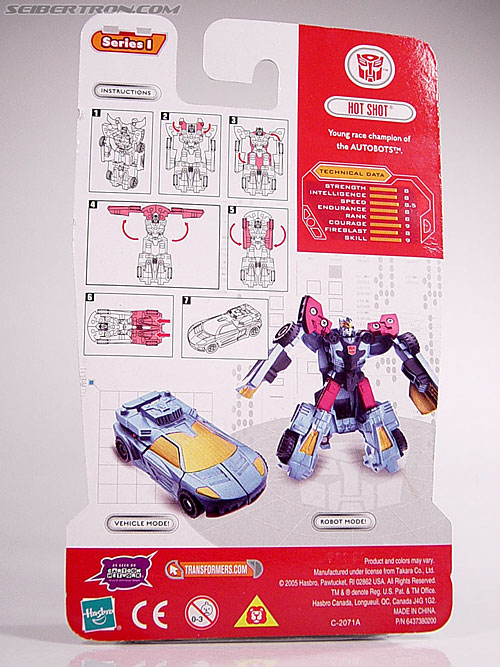 Transformers Cybertron Hot Shot (Image #7 of 55)