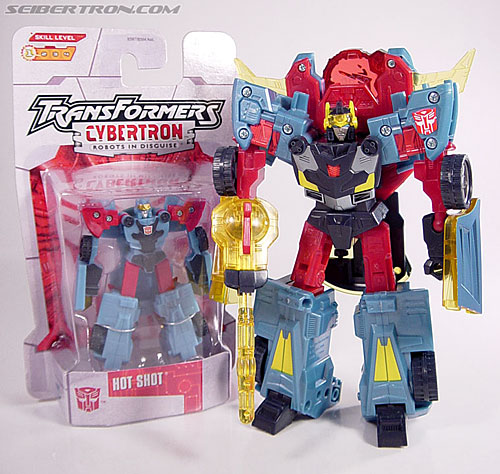 Transformers Cybertron Hot Shot (Image #9 of 55)