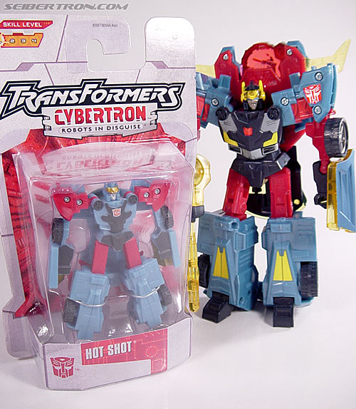 Transformers Cybertron Hot Shot (Image #10 of 55)