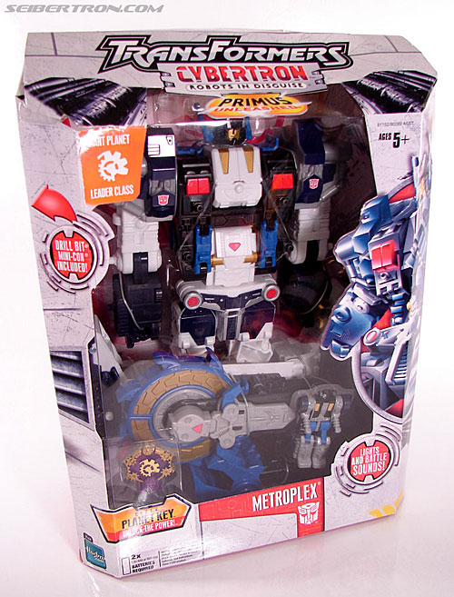 Transformers Cybertron Metroplex (Megalo Convoy) (Image #5 of 192)