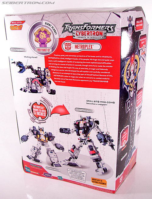 Transformers Cybertron Metroplex (Megalo Convoy) (Image #10 of 192)