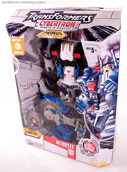 Transformers Cybertron Metroplex (Megalo Convoy) (Image #19 of 192)