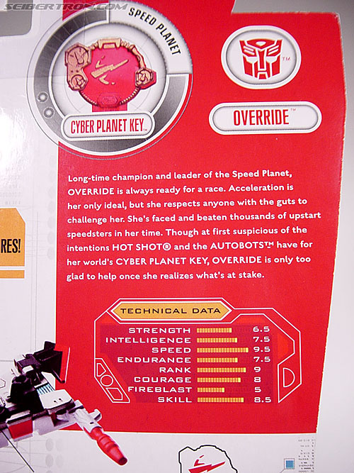 Transformers Cybertron Override (Nitro Convoy) (Image #7 of 85)