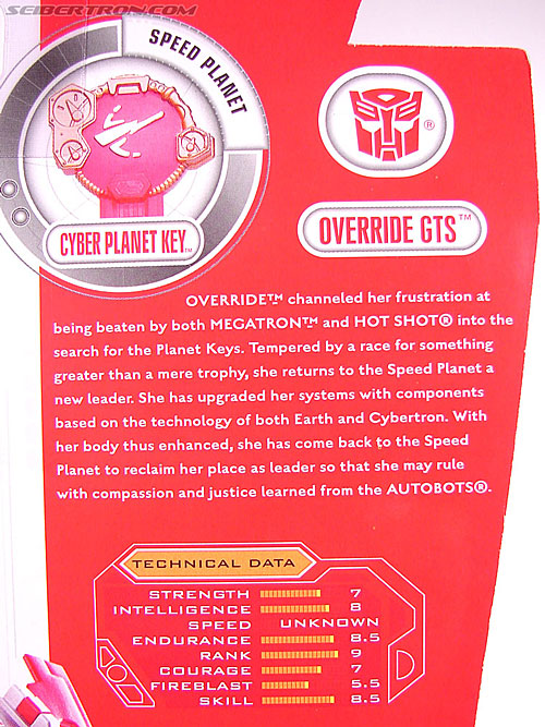 Transformers Cybertron Override GTS (Image #7 of 75)