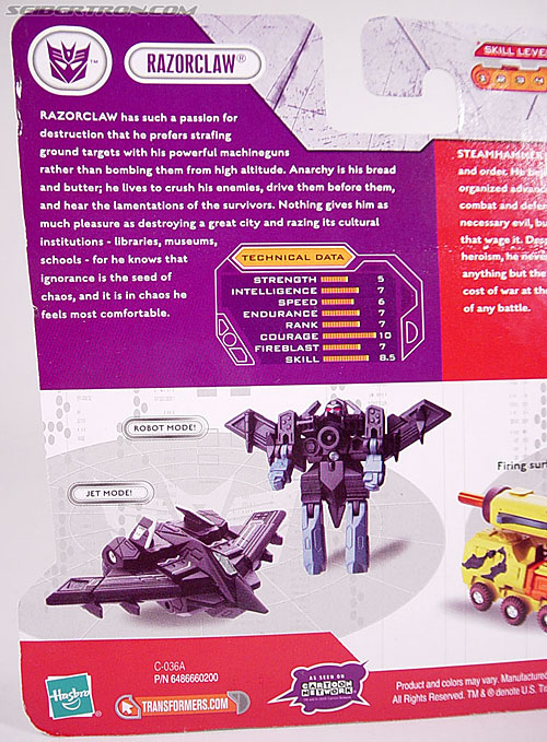Transformers Cybertron Razorclaw (Image #9 of 56)