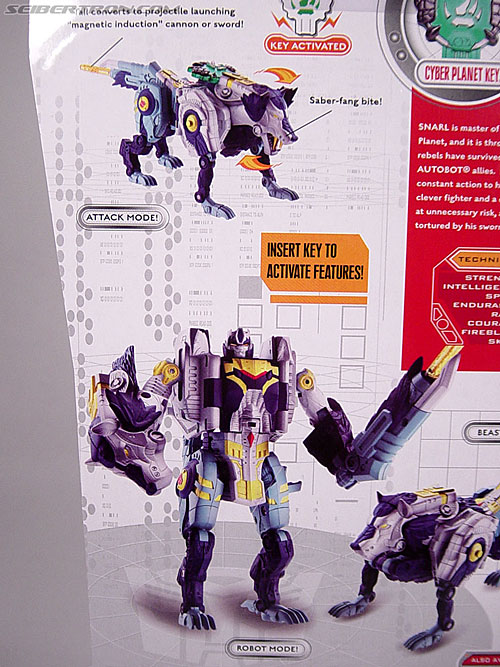 Transformers Cybertron Snarl (Fang Wolf) (Image #9 of 108)