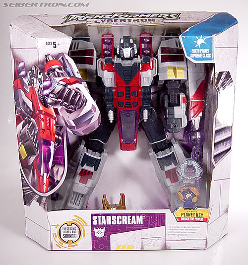 Transformers Cybertron Starscream (Super Starscream) (Image #3 of 170)