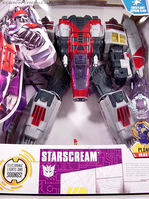Transformers Cybertron Starscream (Super Starscream) (Image #4 of 170)