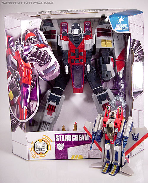 Transformers Cybertron Starscream (Super Starscream) (Image #5 of 170)