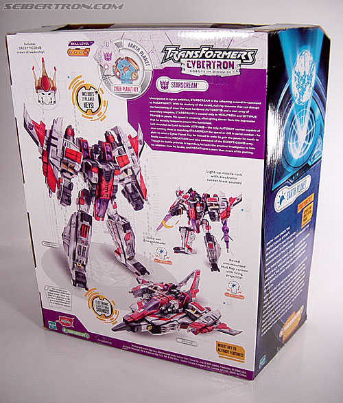 Transformers Cybertron Starscream (Super Starscream) (Image #14 of 170)
