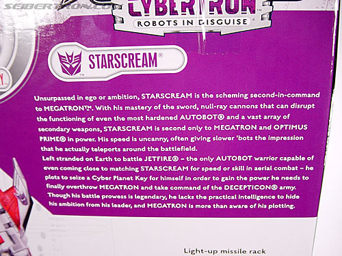 Transformers Cybertron Starscream (Super Starscream) (Image #15 of 170)