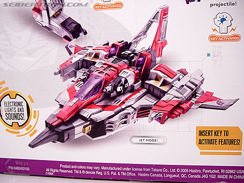 Transformers Cybertron Starscream (Super Starscream) (Image #17 of 170)