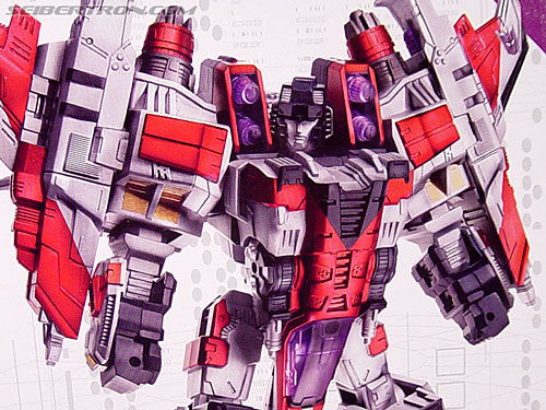 Transformers Cybertron Starscream (Super Starscream) (Image #19 of 170)