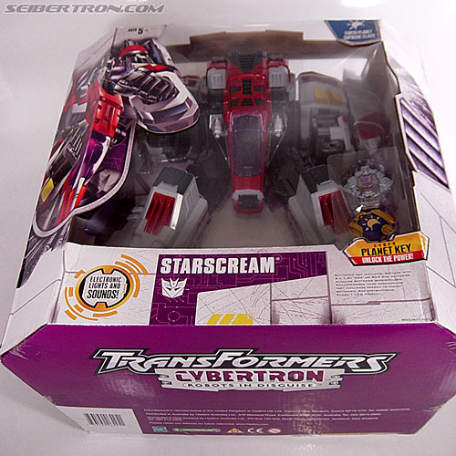 Transformers Cybertron Starscream (Super Starscream) (Image #34 of 170)