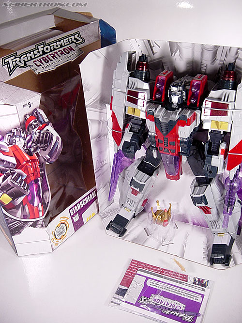Transformers Cybertron Starscream (Super Starscream) (Image #37 of 170)