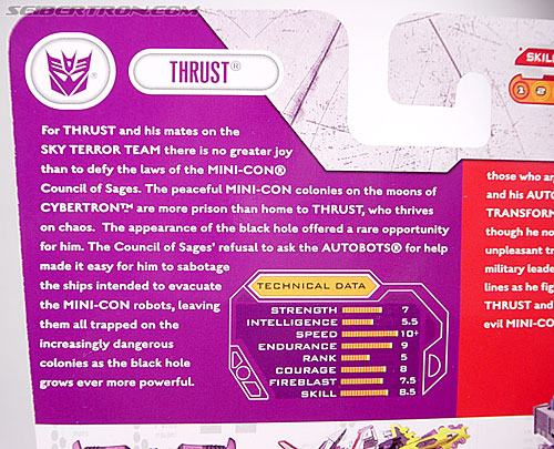 Transformers Cybertron Thrust (Image #6 of 43)